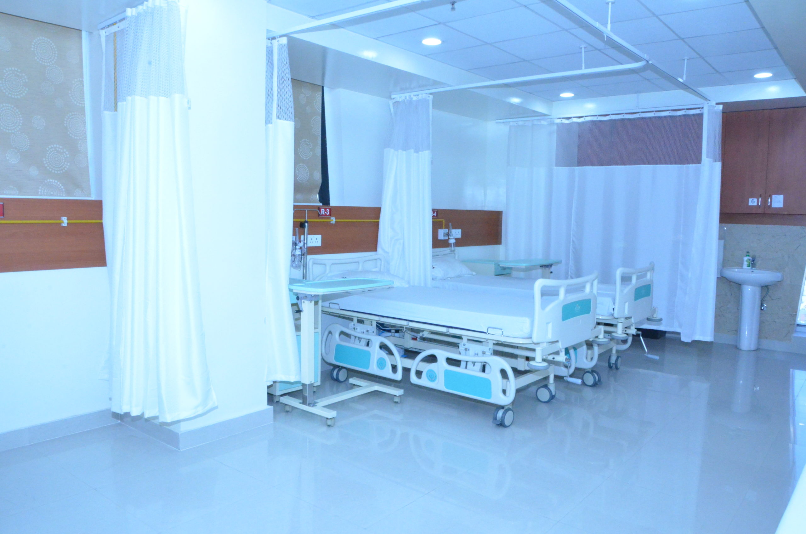 patient room at sci clinic