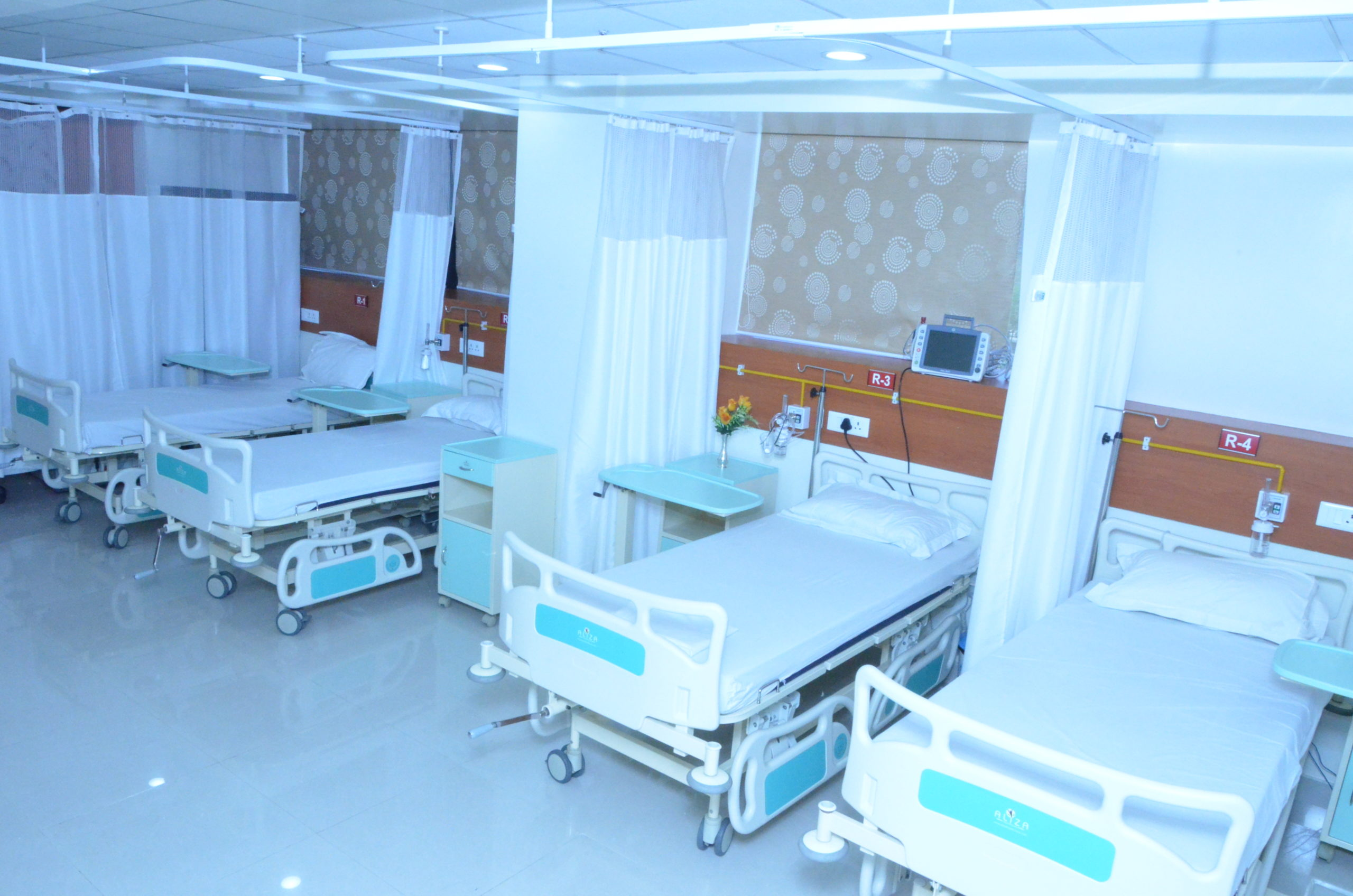 patient room at sci centre