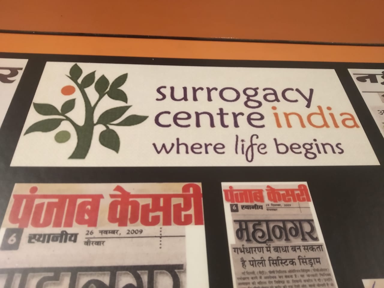 Surrogacy Centre India in Punjab Kesari